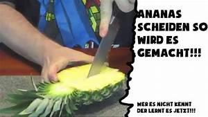 Ananas Schneiden Gerät : ananas schneiden so wird es gemacht wer es nicht kennt der lernt es jetzt youtube ~ Watch28wear.com Haus und Dekorationen