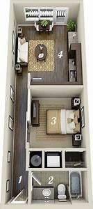 Rectangular, Apartment, Design, Plan, Containerhomes4bedroom