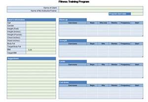 Workout Plan Template Excel Workout Chart For Excel Powerpoint Presentation