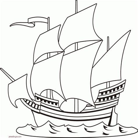 Imagenes De Barcos Sin Pintar by Dibujos De Barcos En El Mar Para Colorear