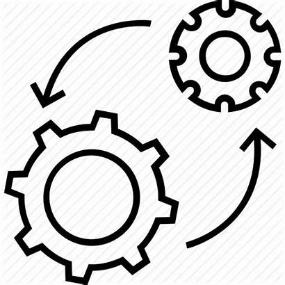 Processing Icon Vectorified Management