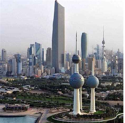 Kuwait Towers, Kuwait City, Kuwait - The beautiful kuwait city