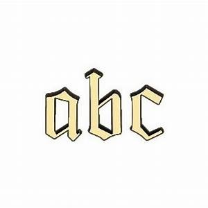 Buchstaben Zum Aufkleben : buchstaben in gro er auswahl hier kaufen beschlag paul ~ Watch28wear.com Haus und Dekorationen