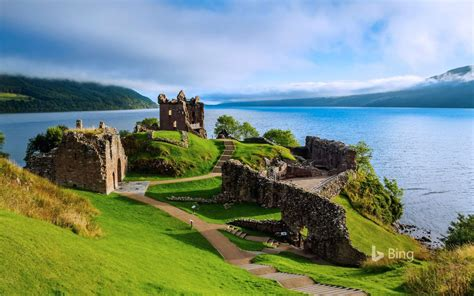 Loch Ness Scotland A Monster View In Scotland Bing