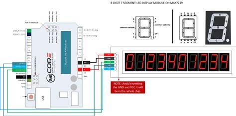 Wiring Max Bit Segment Digital Led Tube Display
