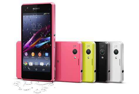 one mobile xperia z1 compact phone sony mobile uk