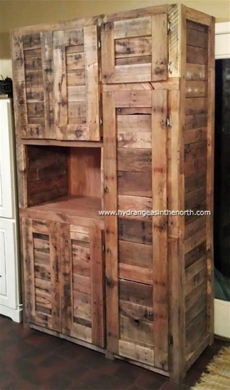 diy pantry cabinet pantry cabinet made out of pallets search diy