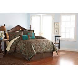 better homes and gardens paisley jacquard comforter set walmart com