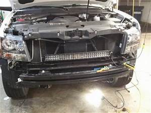 2017 Chevy Tahoe Lights Added 30 Quot Light Bar Behind Grill Chevy Tahoe Forum Gmc