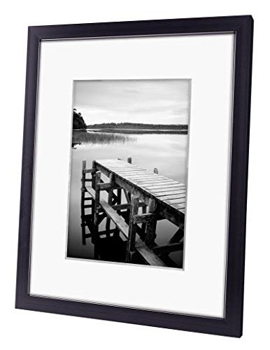 picture frames with mats 8x10 black picture frame made to display pictures 5x7