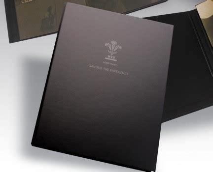 creative packaging welsh rugby union luxury