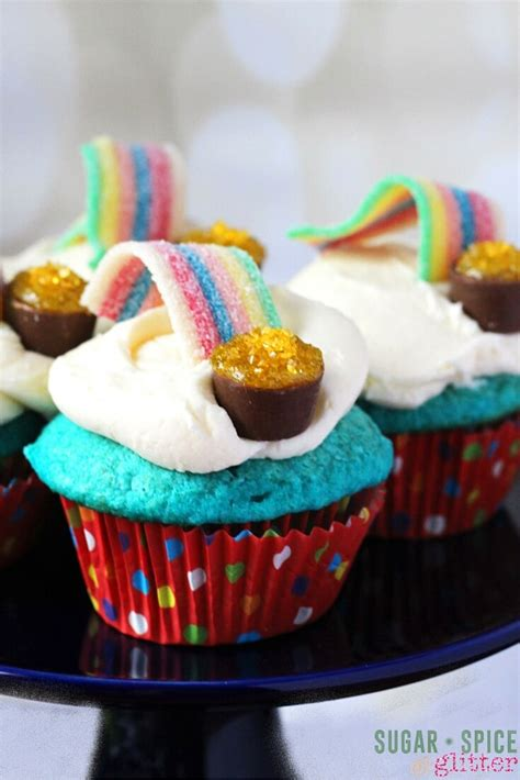 kitchen the rainbow cupcakes sugar spice 824 | over the rainbow cupcakes 2