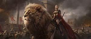Warrior, Armor, Fantasy, Art, Lion, Wallpapers, Hd, Desktop, And, Mobile, Backgrounds