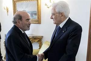 Fao News Article Italian President Mattarella Receives