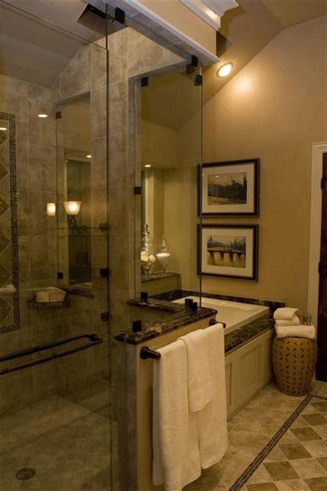small  quaint master bath traditional bathroom