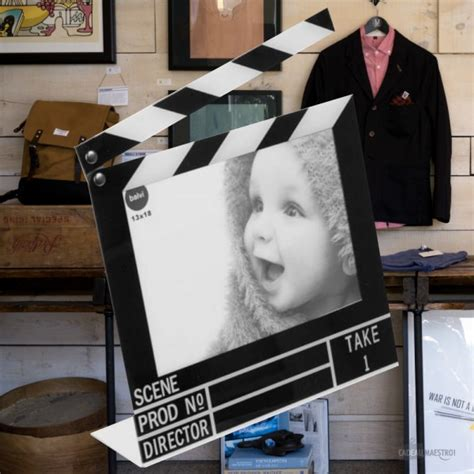 cadre photo clap cinema cadre photo clap de cin 233 ma cadeau maestro