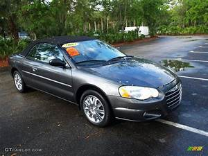 2004 Graphite Metallic Chrysler Sebring Limited