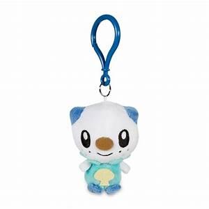 oshawott pokémon petit plush keychain 701