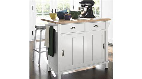 belmont kitchen island belmont white kitchen island crate and barrel