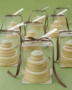 the best cookie wedding favors martha stewart weddings With wedding cake cookie favors