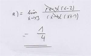 Lim Berechnen : grenzwertberechnung berechnen von grenzwerten lim x 2 x 2 x 6 x 2 x 2 mathelounge ~ Themetempest.com Abrechnung
