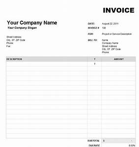 blank invoice template 1 With blank invoice download