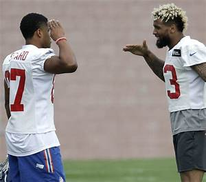 """Odell Beckham thinks Sterling Shepard will be a """"big-time ..."""