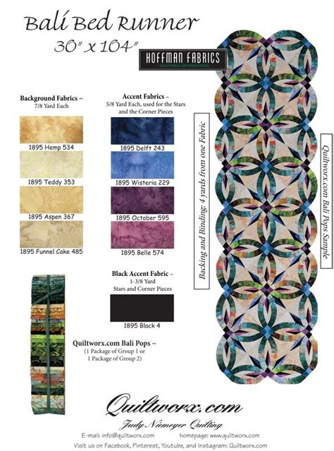 bali pops quiltworx bali pops bed runner quilts wedding ring quilt