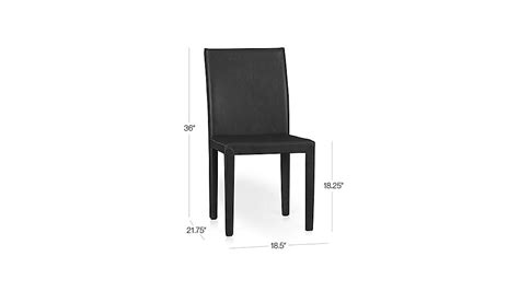 Crate And Barrel Folio Office Chair by Folio Viola Top Grain Leather Dining Chair Crate And Barrel