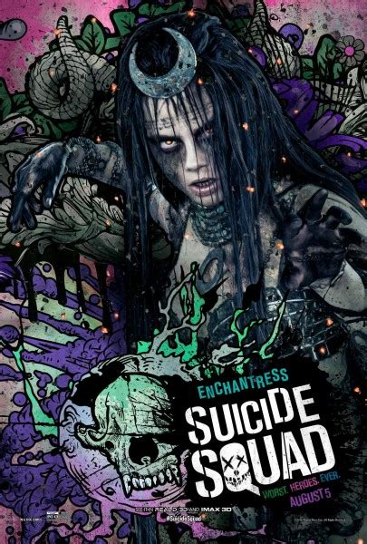 suicide squad  character posters   plain bad