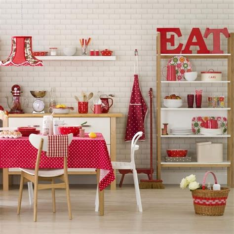 and white spotty kitchen accessories and white family kitchen diner family kitchen design 9198