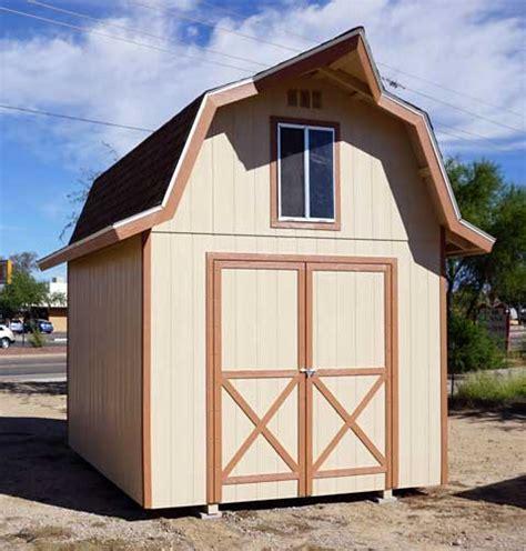 gambrel barn shed plans  loft