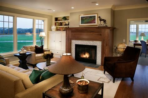 Cape Cod Living Room Design : Cape Cod Shingle Style Living Room