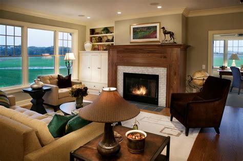 Cape Cod Shingle Style Living Room  Traditional Living