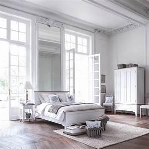 Sommier Lattes 160x200 : lit 160x200 cm avec sommier lattes blanc interior 39 s ~ Teatrodelosmanantiales.com Idées de Décoration