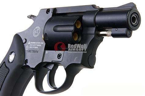gun heaven wingun 733 2inch 6mm co2 revolver black grip