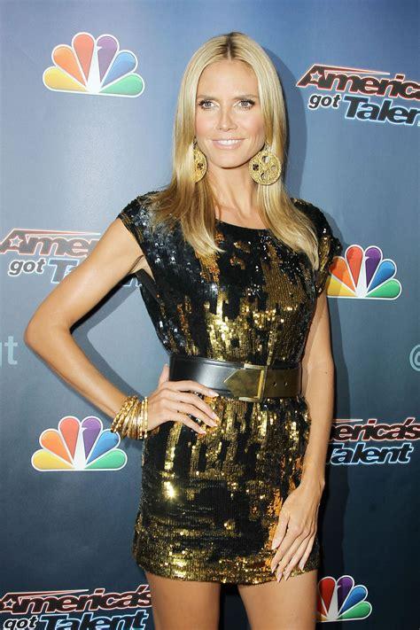 Heidi Klum America Got Talent Post Show Event New