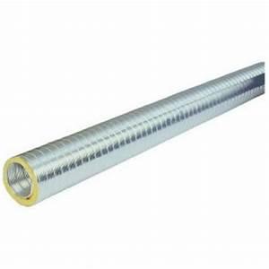Gaine Semi Rigide Vmc : gaine semi rigide aluminium ga80 pour vmc diam tre 80mm ~ Edinachiropracticcenter.com Idées de Décoration