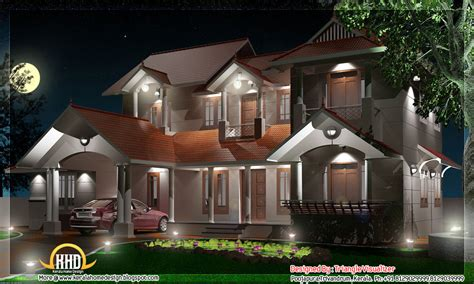 4 bhk kerala home design 2800 sq ft kerala house