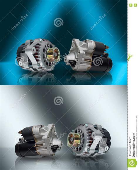 alternator starter generator and starter car aggregates