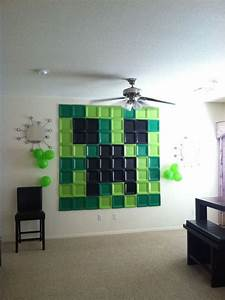 Minecraft decor Twins Room Pinterest