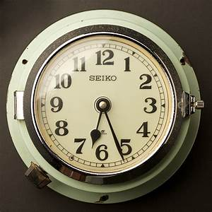 Vintage Ship's Seiko Wall Clock no2