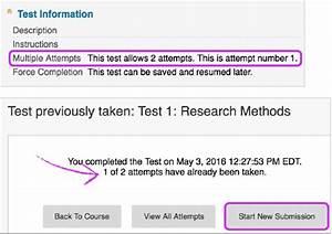 Tests and Surveys | Blackboard Help