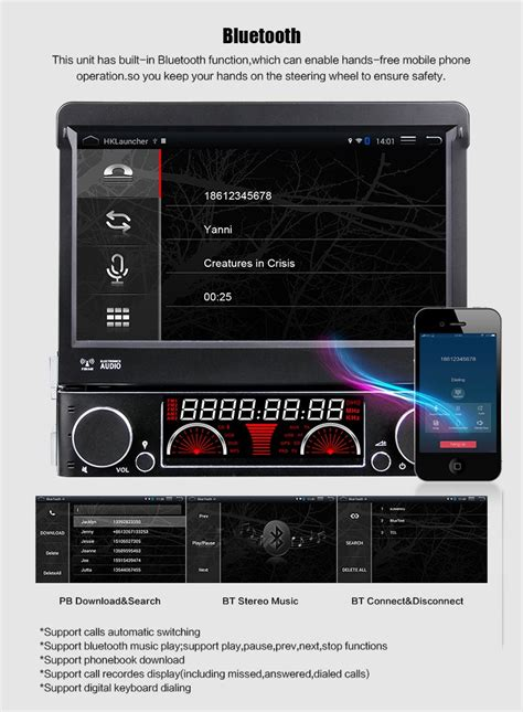 single   din android car radio audio dvd gps navigation central multimedia stereo gps