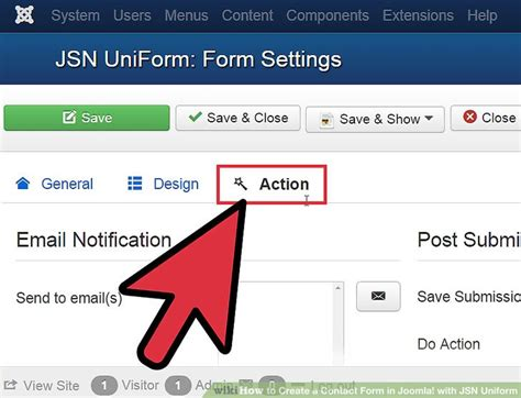 How To Create A Form In Joomla Module by How To Create A Contact Form In Joomla With Jsn Uniform