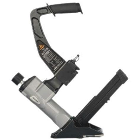 manual pneumatic air hardwood flooring cleat nailer and stapler gun 18 nails