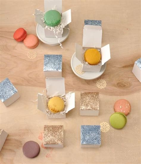 diy wedding crafts diy glitter top favor boxes diy