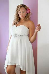 plus size high low dresses dressed up girl With plus size high low wedding dresses