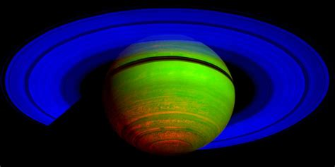 what is the color of saturn cassini the 100 best saturn images according to nasa