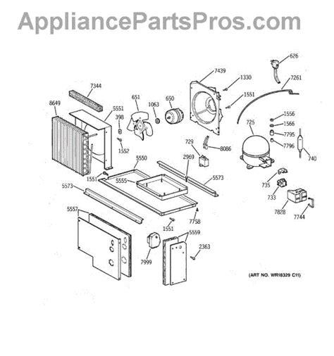 parts  ge zissncass unit parts appliancepartsproscom